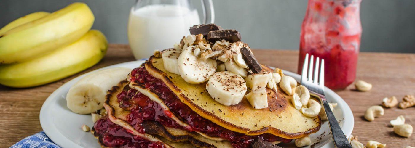 Delish Breakfast Pancakes
